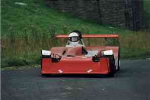 Mallock at Scammonden Dam Hillclimb 2002