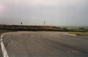 Ty Croes hairpin entry